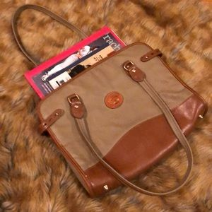 Dooney & Bourke Two-Toned Leather Work Bag!!!